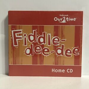 New Kindermusik Our Time Fiddle-Dee-Dee Home CD 2 CDs Children's Music CD