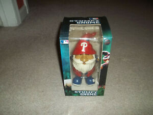 "New in Box Stumpy Gnome Philadelphia Phillies Forever Collectibles 6.5"" - 6.75"""