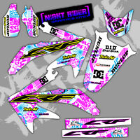 2014 2015 HONDA CRF 250R GRAPHICS KIT CRF250R NIGHTRIDER WHITE CRF 250 DECALS