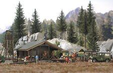HS Busch 6042 Wald-Set Waldhütte mit viel Zubehör