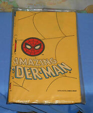 vintage THE AMAZING SPIDER-MAN TABLECLOTH by C.A. Reed