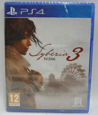 SYBERIA 3   -   SONY PS4 PAL NUOVO NEW SEALED