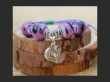Heart Spirit Healing Yoga Bracelet Chakra Balance Buddha Zen Girl Yogi Accessory