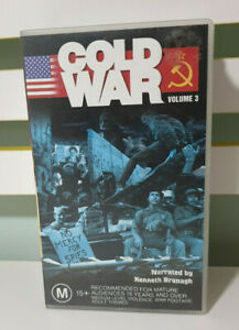 COLD WAR VOLUME 3 VHS VIDEO NARRATED BY KENNETH BRANAGH