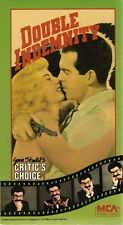 Double Indemnity (Vhs, 1987, Mca) Brand New Factory Sealed