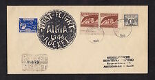 1946 HOLLAND rocket mail cover - AIRIA First Flight, NRS - EZ 54C1