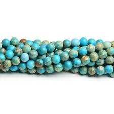 Sponge Quartz Round Beads 4mm Blue 80 Pcs Gemstones DIY Jewellery Making Crafts