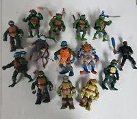 Teenage Mutant Ninja Turtles Figure Lot 1980s 1990s 2003 Tmnt Playmates...
