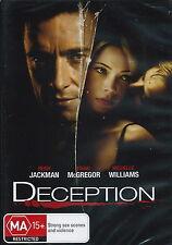 Deception - Thriller / Drama / Crime - Hugh Jackman / Ewan McGregor - NEW DVD