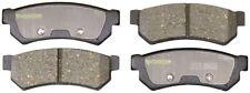 Disc Brake Pad Set-Total Solution Ceramic Brake Pads Rear Monroe CX1315