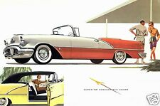 1956 Oldsmobile Super 88 Convertible, Refrigerator Magnet, 40 MIL Thick