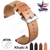 Genuine Leather Watch Band 18mm Wrist Strap For FOSSIL Q Venture Gen 3 Watch