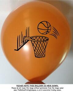 10 Orange Basketball Balloons Adult Children Balloon Party Party Decoration