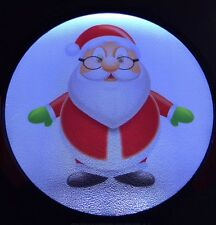 Santa Light Up Decal Powerdecal Backlit LED Motion Sensing Auto Decal