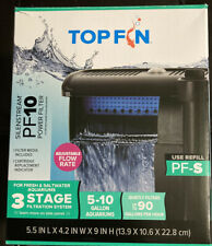 Top Fin Silenstream PF10 Power Filter 5-10 Gallon Aquarium Filter