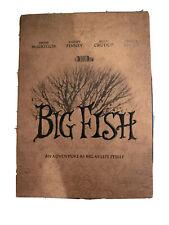 Big Fish Dvd Tim Burton (Dir) 2003 Case Mplete w/ book and Dvd New Free Shipp