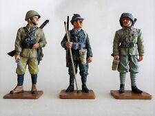 DELPRADO WW2 3 soldats Italiens #1