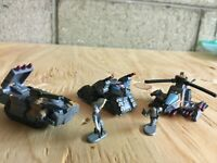 Micro Machines 1996-1997 #16 Xenon Warriors Complete Set w/Infantry Loose lot