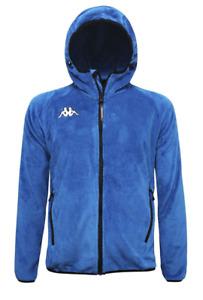 Kappa Men's Ski Fleece Hooded 6Cento Skiing Winter Jacket Hoodie - Blue - New