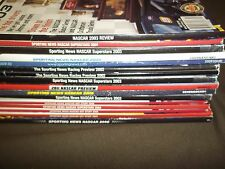 SPORTING NEWS NASCAR LOT MAGAZINE LOT OF 16 ISSUES - INCLUDES 1ST ISSUE - O 1070