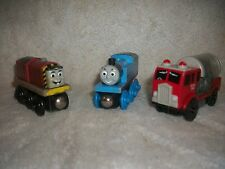 Thomas The Tank Engine Salty & Water Tanker Wooden Magnetized Toy Figures