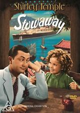Stowaway : NEW DVD : Shirley Temple :