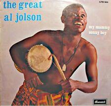 ++THE GREAT AL JOLSON ma mammy/sonny boy LP 1969 BRUNSWICK USA golden gate VG++