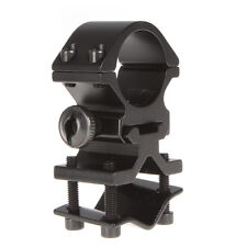 21mm ~ 31mm Adjust Scope Mount Holder Clip Clamp for 25mm Flashlight Torch