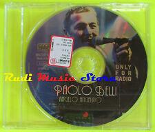 CD Singolo PAOLO BELLI Angelo angelino PROMO italy NEW MUSIC no mc dvd (S9**)
