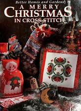 Better Homes & Gardens Merry Christmas in Cross-Stitch HB Craft Book Embroidery