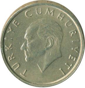 COIN / TURKEY / 10 LIRA 1995    #WT10074