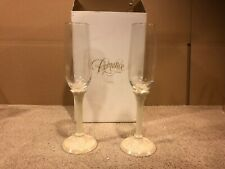 WDCC Cinderella Romance Collection Champagne Flutes