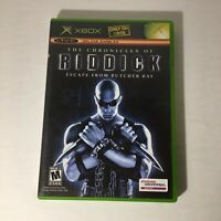 Microsoft Xbox Video Game - The Chronicles of Riddick: Escape from Butcher Bay