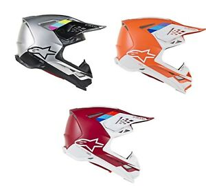 2019 Alpinestars Supertech M8 Contact Motocross Offroad Helmet - Pick Size/Color