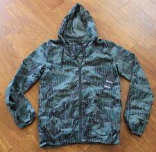 NWT! KR3W KREW Sage Camouflage Hood Windbreaker Jacket, sz S $75.00