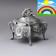 Vintage Design Tin Alloy Music Box ♫  SOMEWHERE OVER THE RAINBOW  ♫