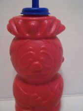 vintage Hawaiian Punch Punchy sipper bottle Plastic Drinking Six Flags