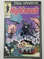 NIGHTMASK #1 (1986) MARVEL NEW UNIVERSE COMICS 1ST APPEARANCE! ARCHIE GOODWIN!