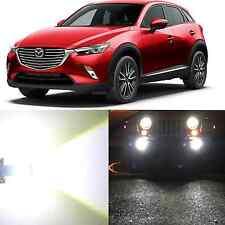 Alla Lighting Fog Light H11 6000K Super Bright White 12V LED Bulb for Mazda CX-7