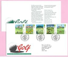 ROYAL MAIL 1994 FDC - GOLF - Shs BUREAU Edinburgh