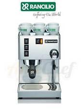New Espresso Coffee Machine, Made in Italy, Rancilio Silvia