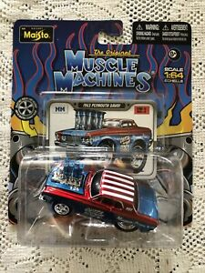 Maisto 1963 PLYMOUTH SAVOY The Original Muscle Machines 1:64 Scale FREE SHIPPING