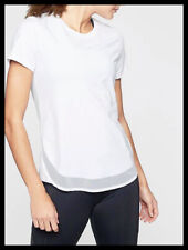Athleta Nwt Women's Cadence Tee Size Small Tall Color White