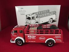 1997 FIRST GEAR 1953 WHITE 3000 WITH STAKE BODY 1/34 SCALE DIECAST