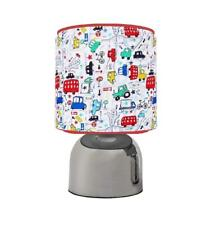 BEEP BEEP TRANSPORT CARS RED BUS  TOUCH TABLE BEDSIDE LAMP KIDS ROOM BRAND NEW