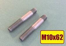 12 Stück Stiftschraube Bolzen DIN 939 M10x50 10.9 hochfest Länge 62mm