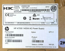 NEW HP H3C A7500 1400W AC Power Supply JD218A LSQM2AC1400