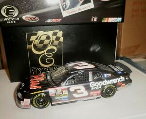 NASCAR 1/24 RCCA ELITE DALE EARNHARDT 1998 DAYTONA WIN LIQUID COLOR 1/3000 #132