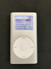 Apple iPod Mini 2nd Generation Model A1051 4GB Silver Color, Works Well