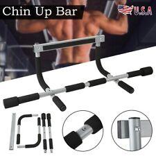 Door Pull Up Bars Strength Fitness Gym Chin Upper Workout Heavy Duty Doorway Bar